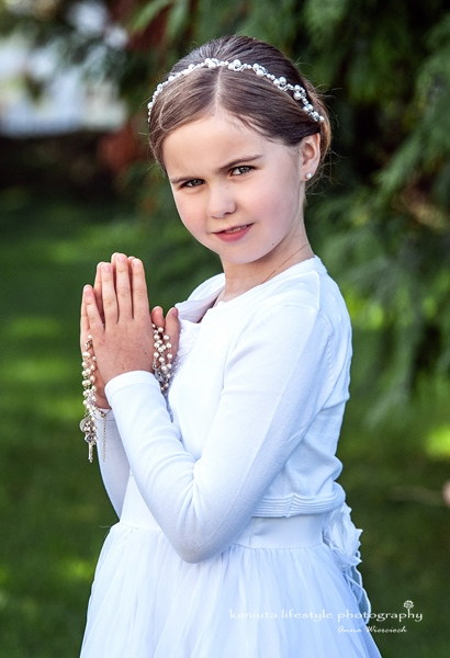 First Holy Communion photograph