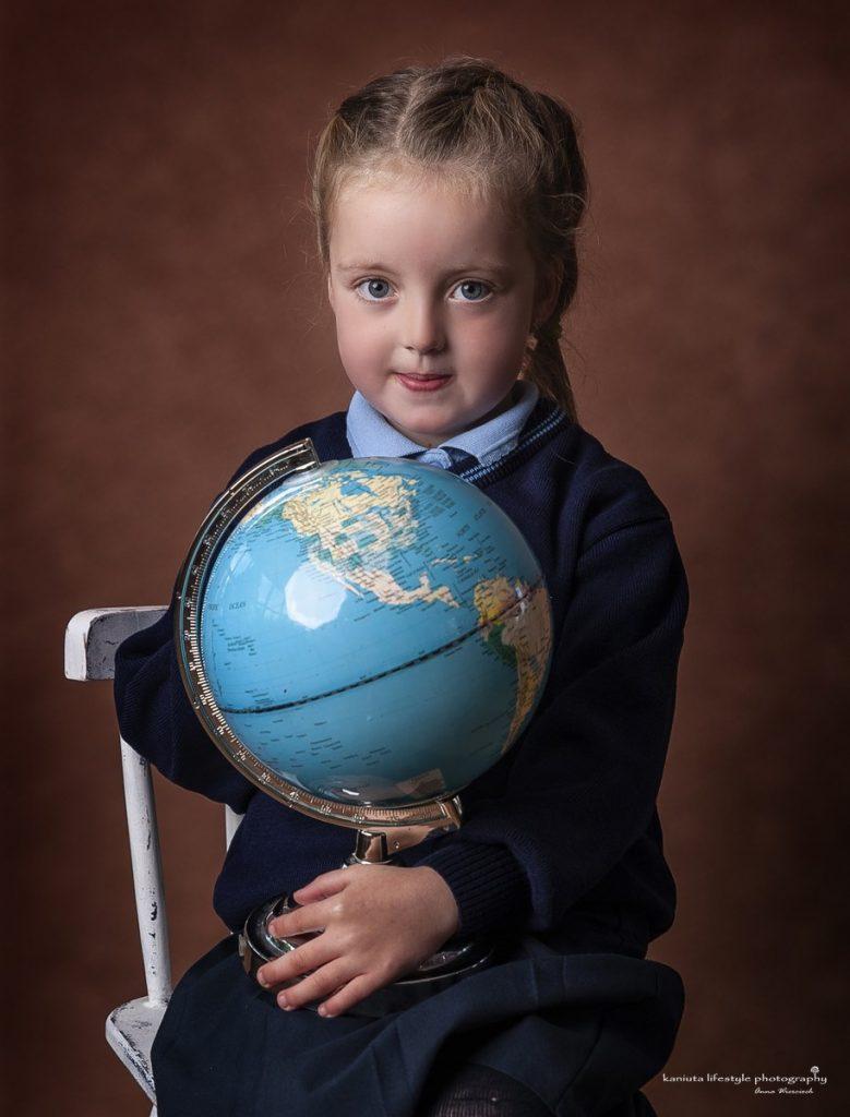 School girl photographer Cavan