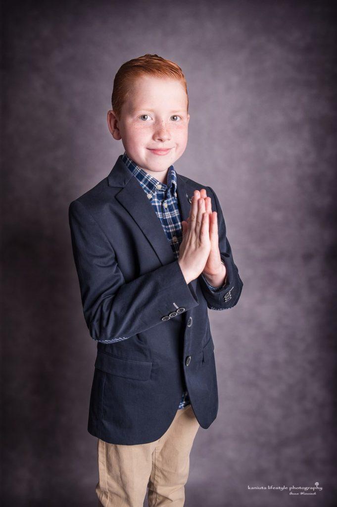 first holy communion boy