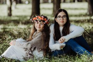 sisters outdoor session